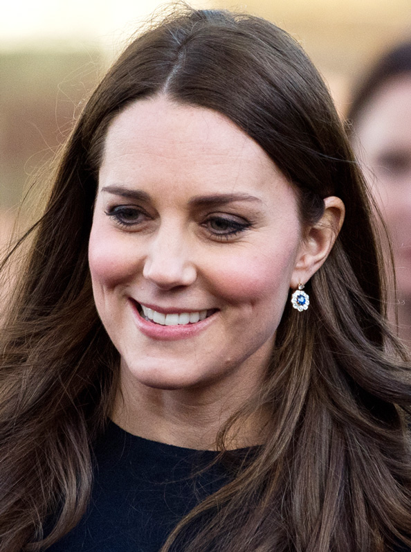 Set Point! Kate Middleton's Favorite Pair of Earrings Perfectly Match Her Engagement Ring