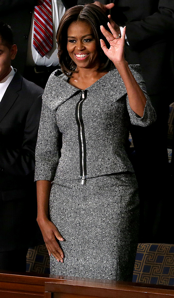 Michelle Obama Wears Michael Kors To State Of The Union
