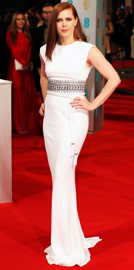 Amy Adams in Lanvin.