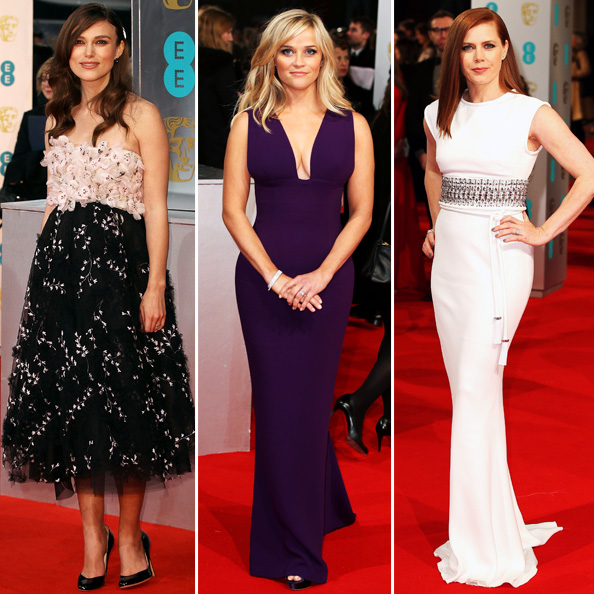 See the Looks from the 2015 BAFTAs Red Carpet