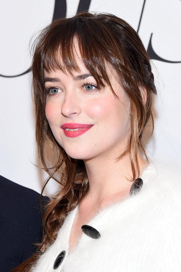 Dakota Johnson S Fifty Shades Of Grey Glam Squad Instyle Com