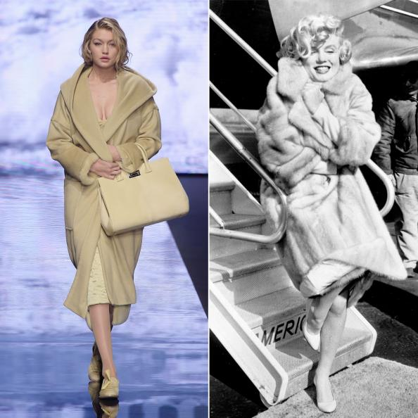 Gigi Hadid as Marilyn Monroe
