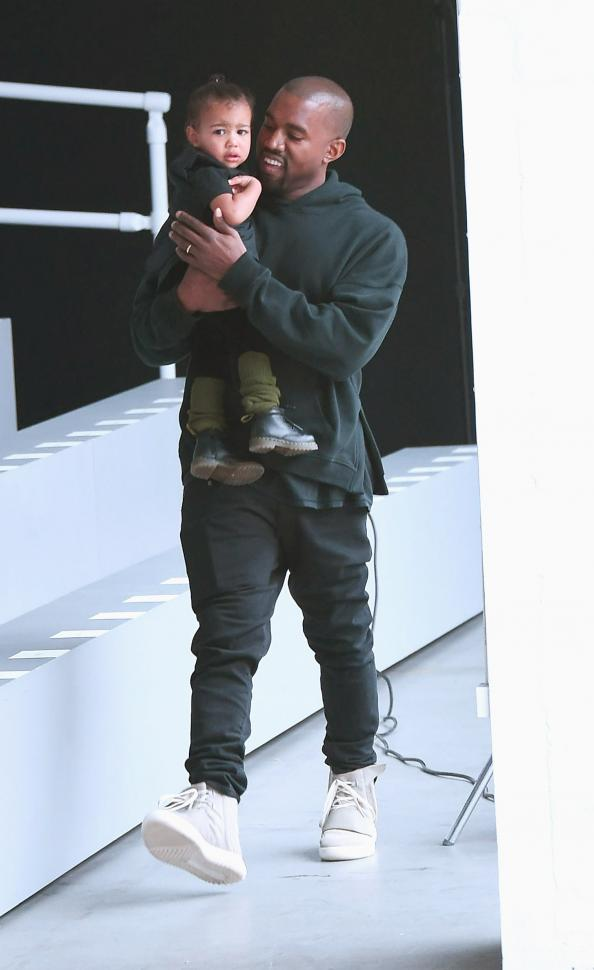 Kanye West Professes His Love for Daughter North with a Tattoo