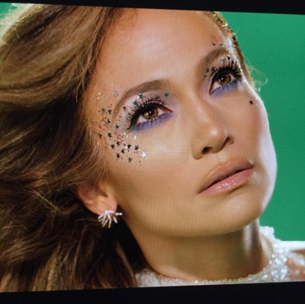 Jennifer Lopez Shares Behind-the-Scenes Snaps from an Upcoming Music Video
