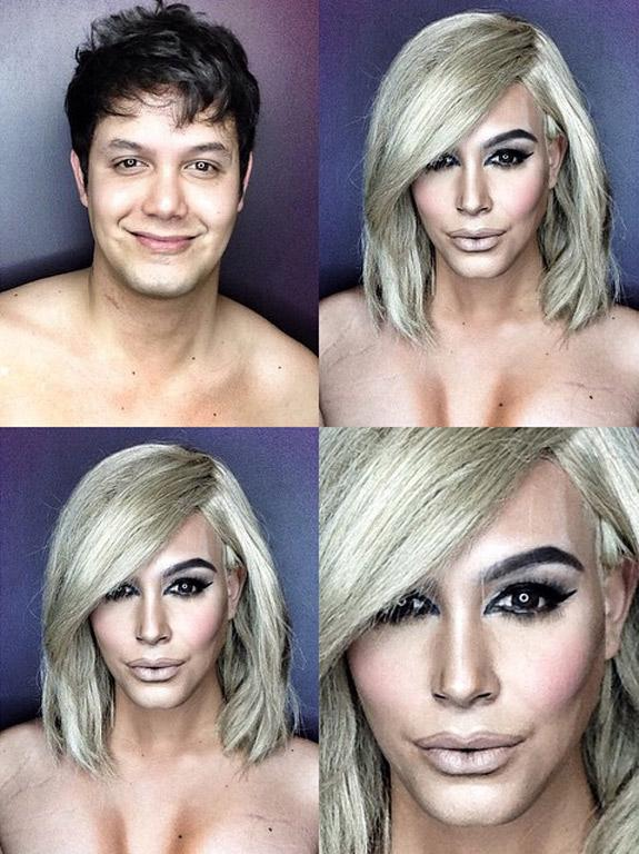 Meet the Man Who Can Transform into Kim Kardashian