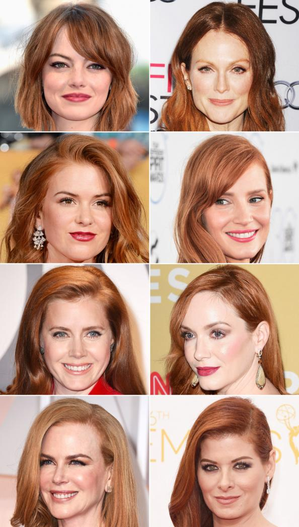 Hollywood Red Heads Nautral Or Dyed Hair  Instylecom-6251