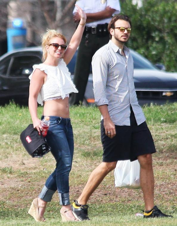 Hot Mama: Britney Spears Shows Some Skin at Her Son's Soccer Game