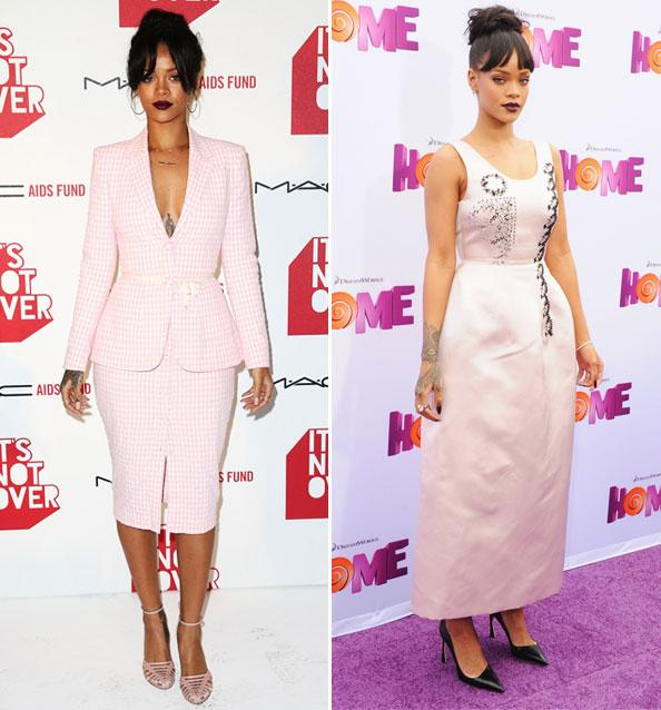Is This Rihanna's New Favorite Color?