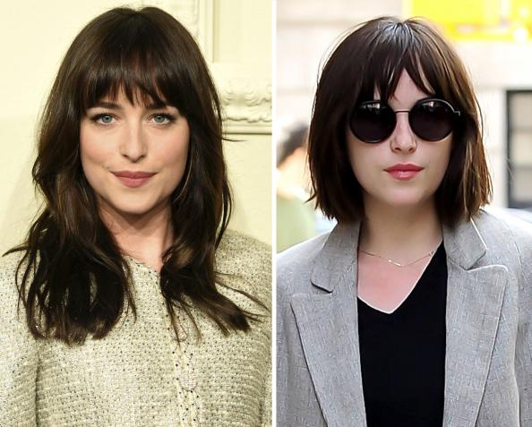 Dakota Johnson Cut Her Long Locks Into A Chic Blunt Bob
