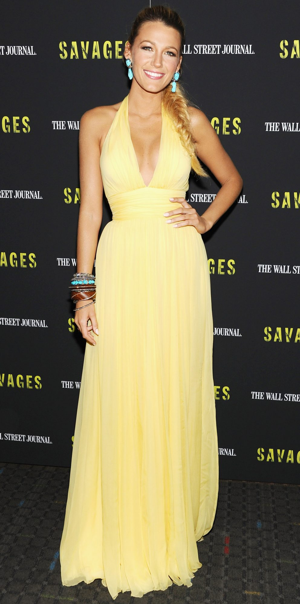 Savages  New York Premiere - Inside Arrivals