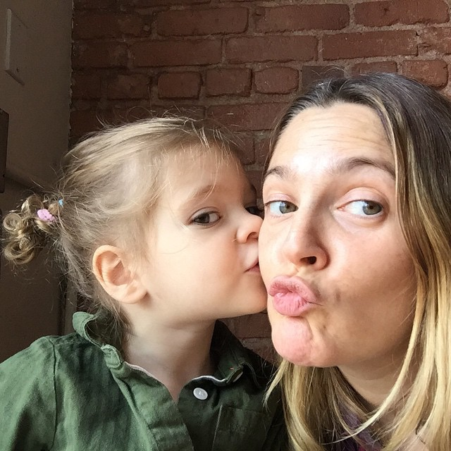 Drew Barrymore Mother's Day