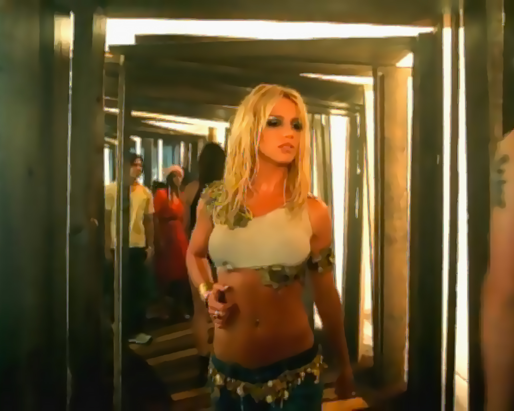 """#TBT Fashion: Shop an Outfit Inspired by Britney Spears's 2001 """"I'm A Slave 4 U"""" Music Video"""