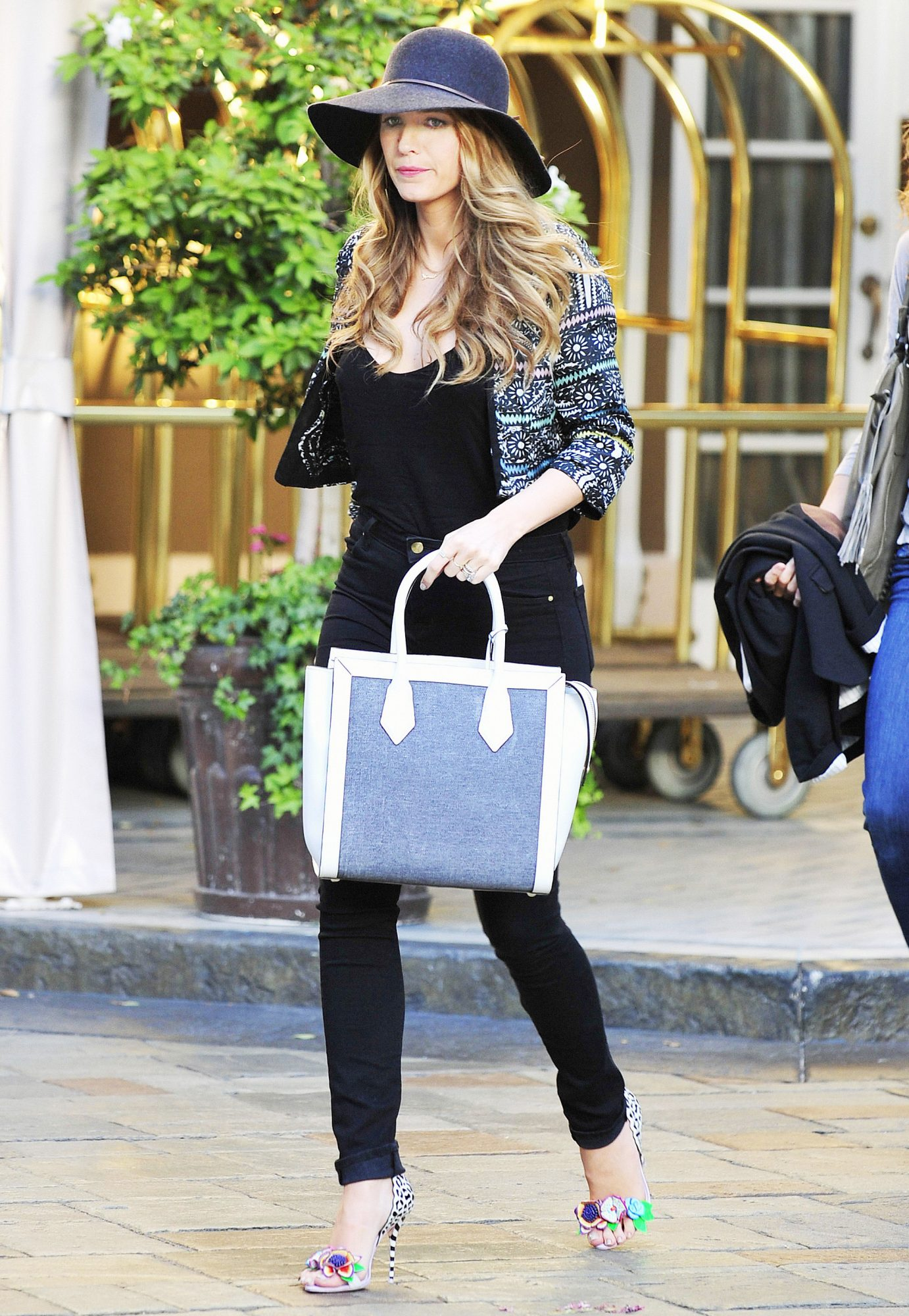 Blake Lively Leaving a Meeting at Her Hotel