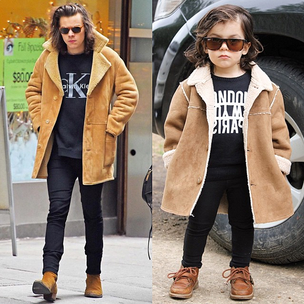 This Toddler Looks Just Like Harry Styles Instyle Com