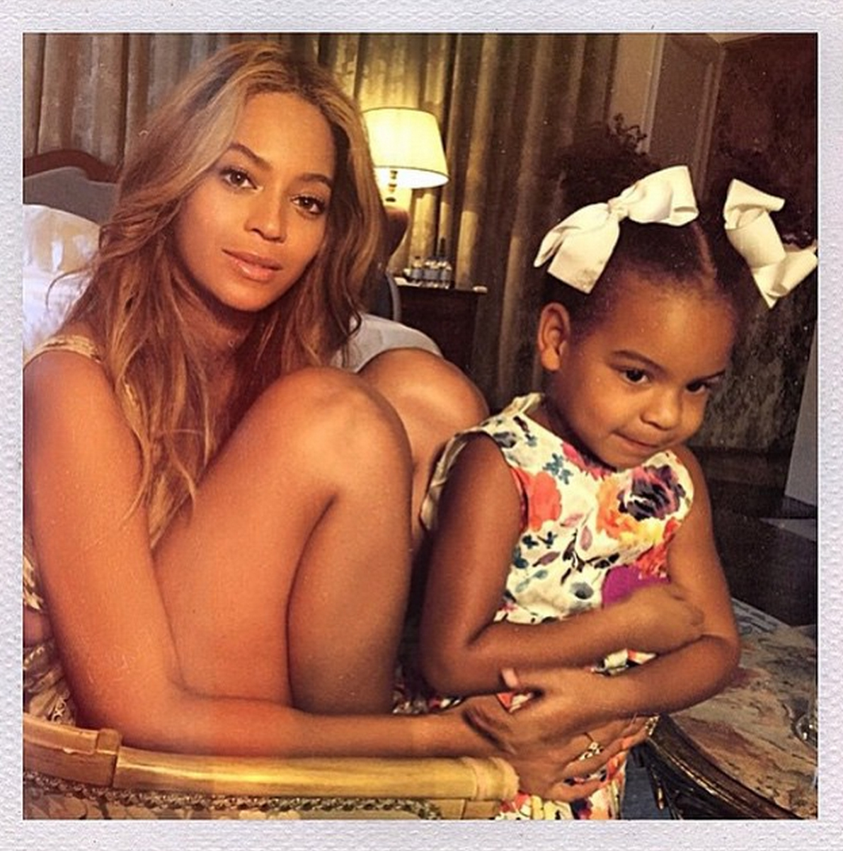 Beyoncé Just Shared the Cutest Family Photos of Blue Ivy and Jay Z