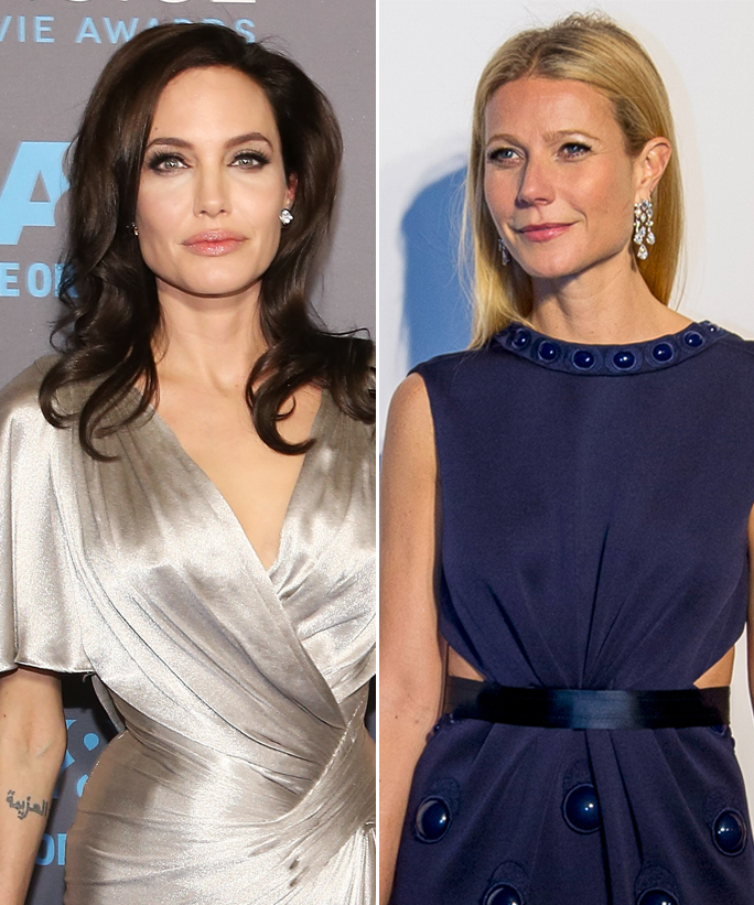 Gwyneth Paltrow and Angelina Jolie - Lead - 2