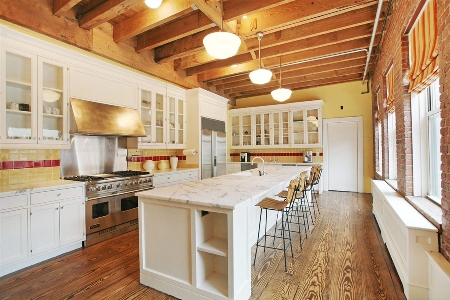 Taylor Swift's New York City Penthouse - The Kitchen