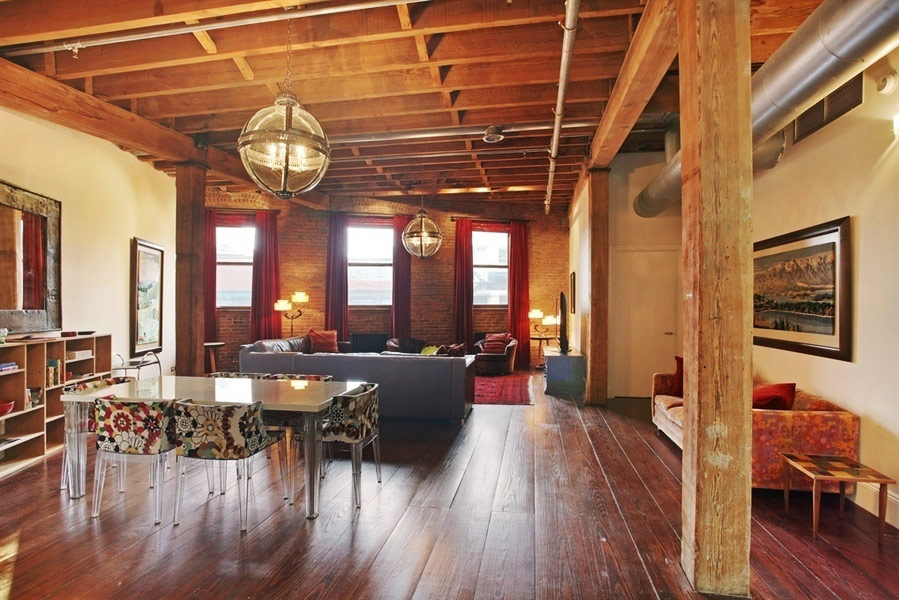 Taylor Swift's New York City Penthouse - The Dining Room