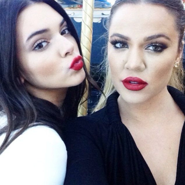 22 Times Birthday Girl Khloé Kardashian Convinced Us to Rock a Bold Red Lip