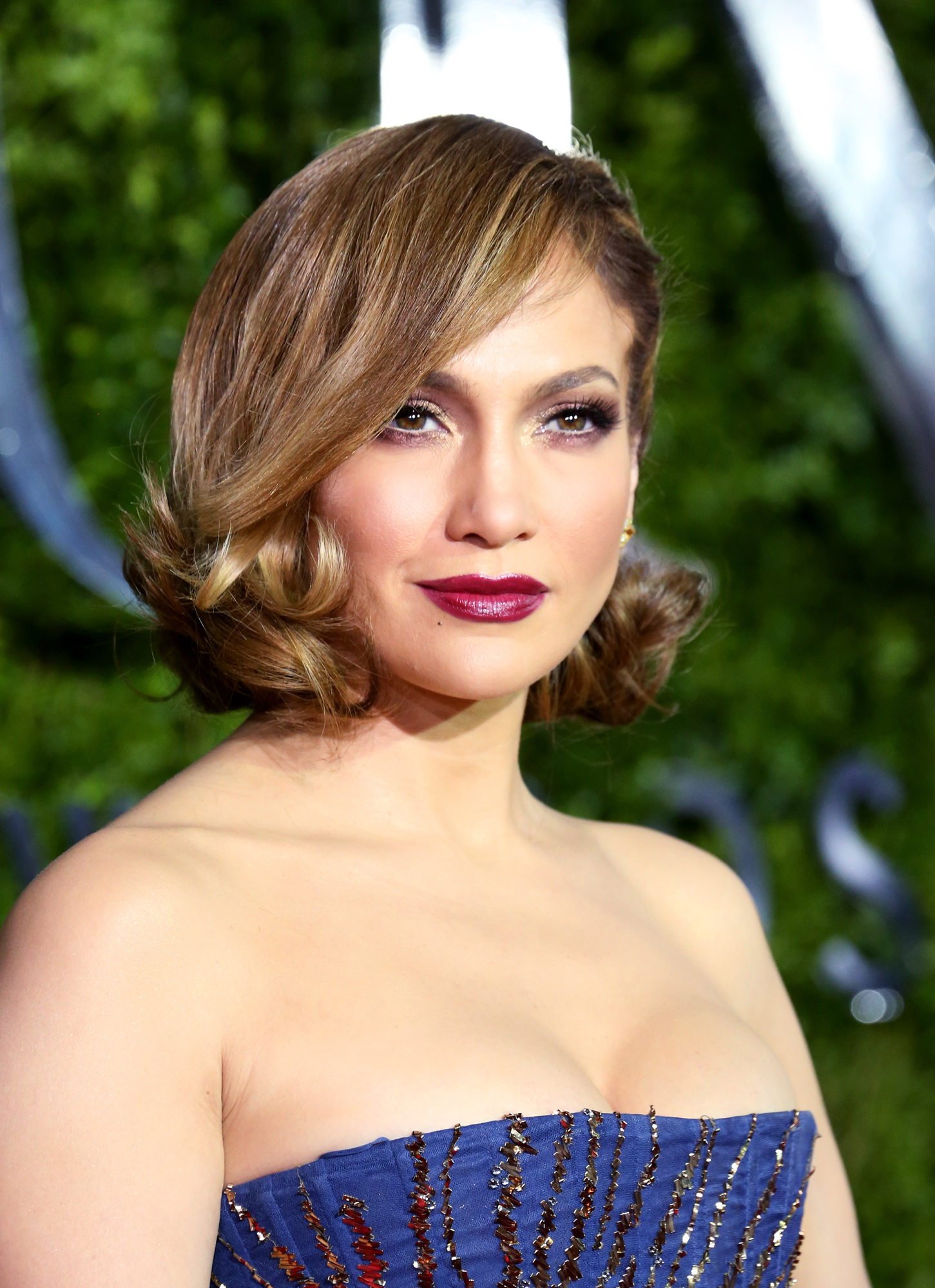 Jennifer Lopez attends the 2015 Tony Awards at Radio City Music Hall on June 7, 2015 in New York City.