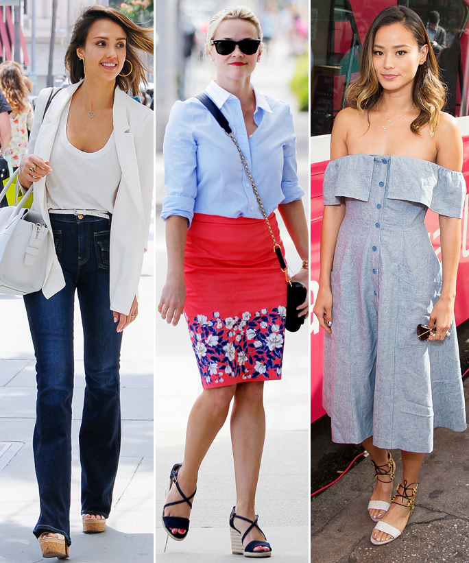 Celebrity Inspired July Fourth Outfits - lead - 3