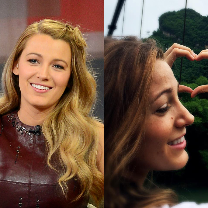 """Blake Lively Says Goodbye to Blonde Hair and Hello to """"Bronde"""""""