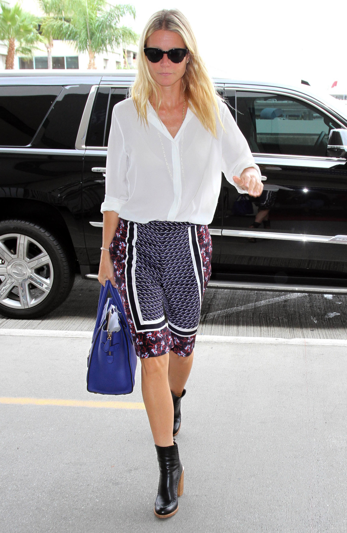 Gwyneth Paltrow Makes Another Case for Sweet Summer Shorts