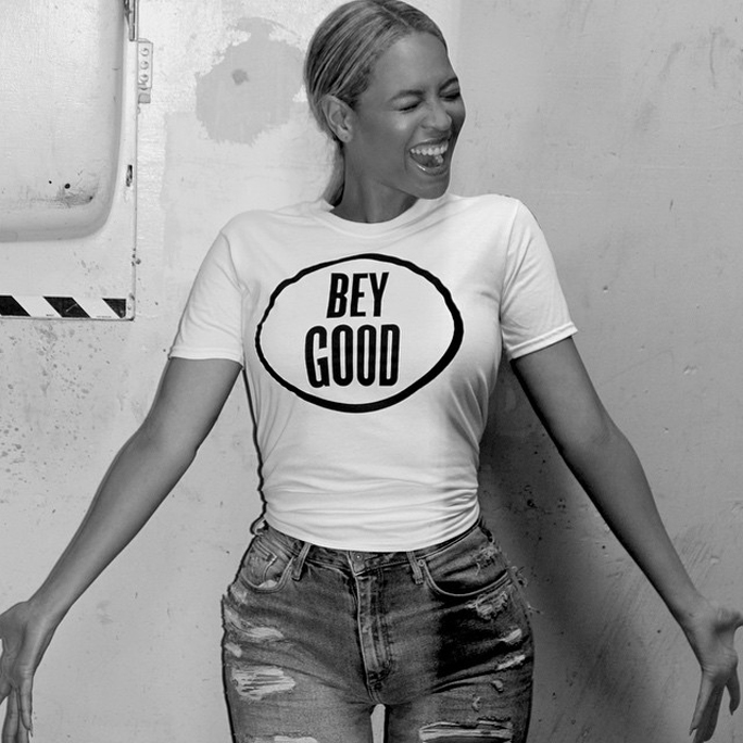 Beyoncé Relaunches the BeyGOOD Haiti T-Shirt but for Just 24 Hours