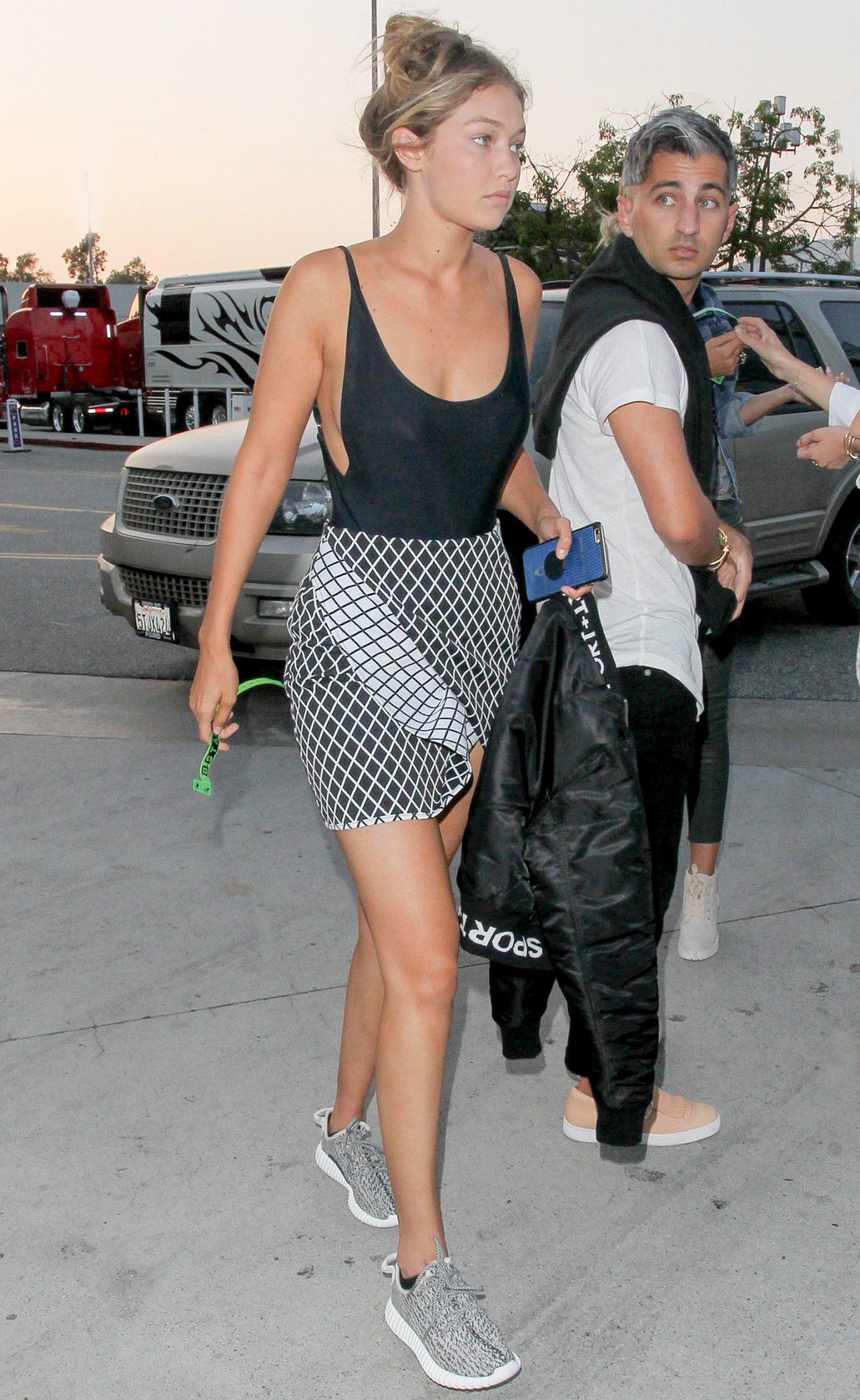 Celebrity Sightings In Los Angeles - August 21, 2015