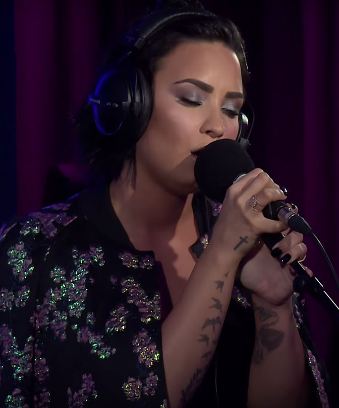 """Watch Demi Lovato's Breathtaking Cover of Hozier's """"Take Me to Church"""""""