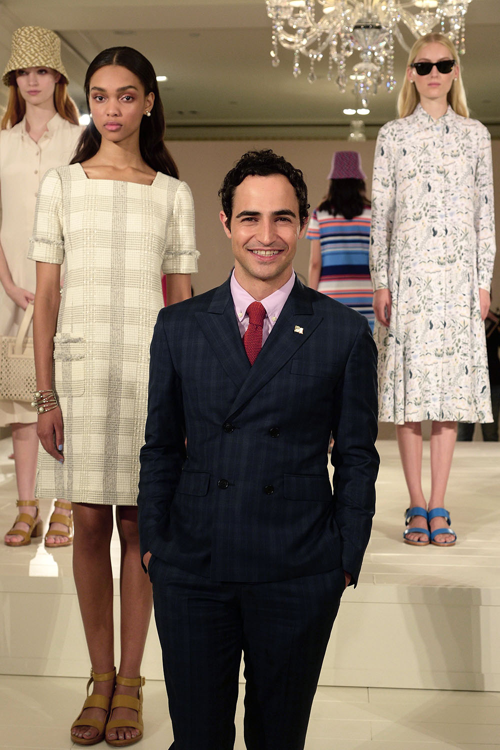 Zac Posen Debuts His First Brooks Brothers Collection at #NYFW