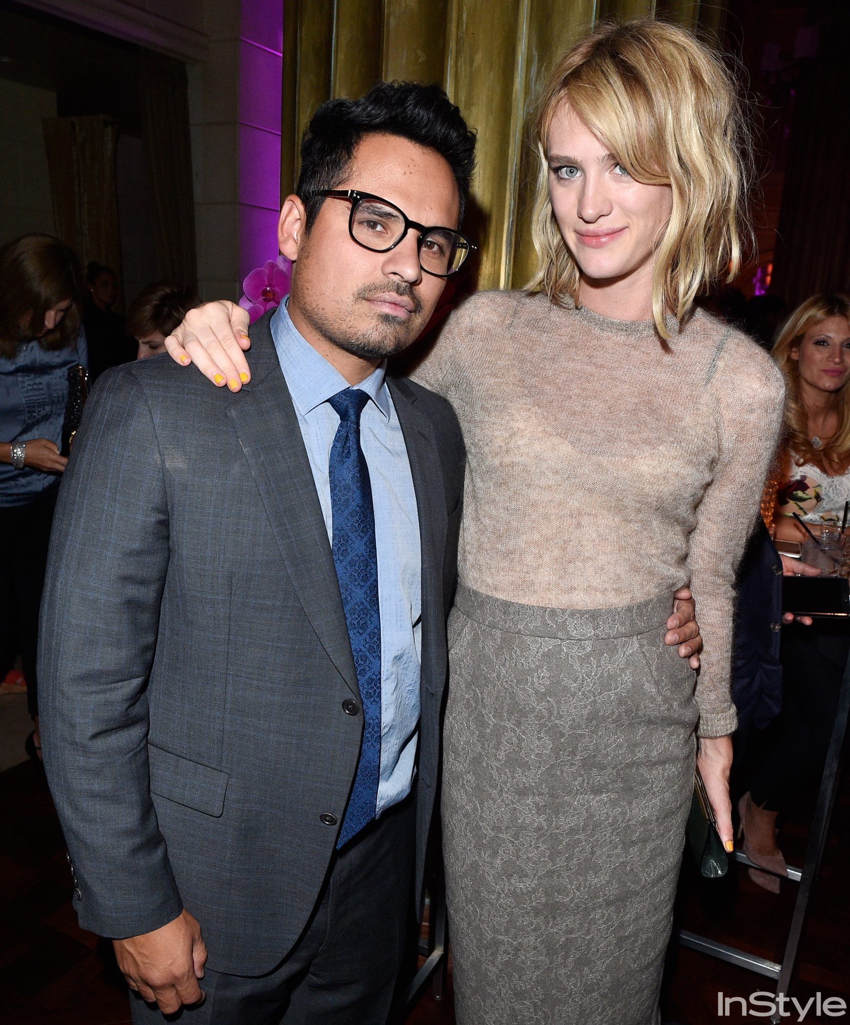Micheal Pena and Mackenzie Davis
