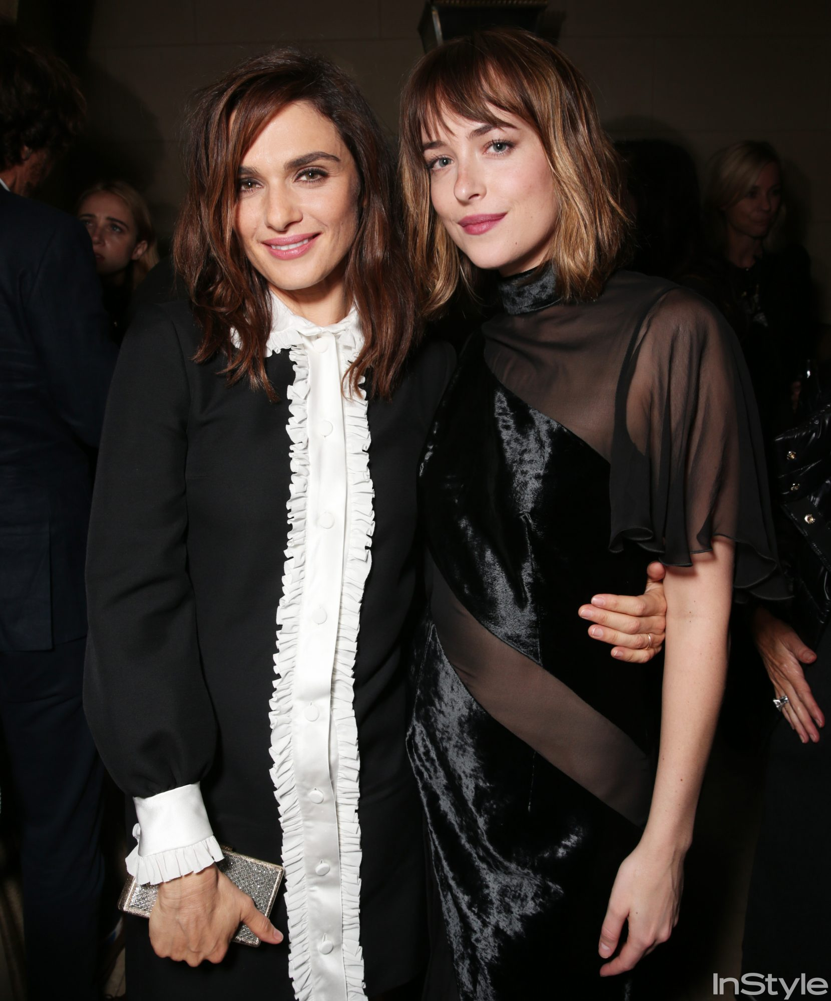 Rachel Weisz and Dakota Johnson