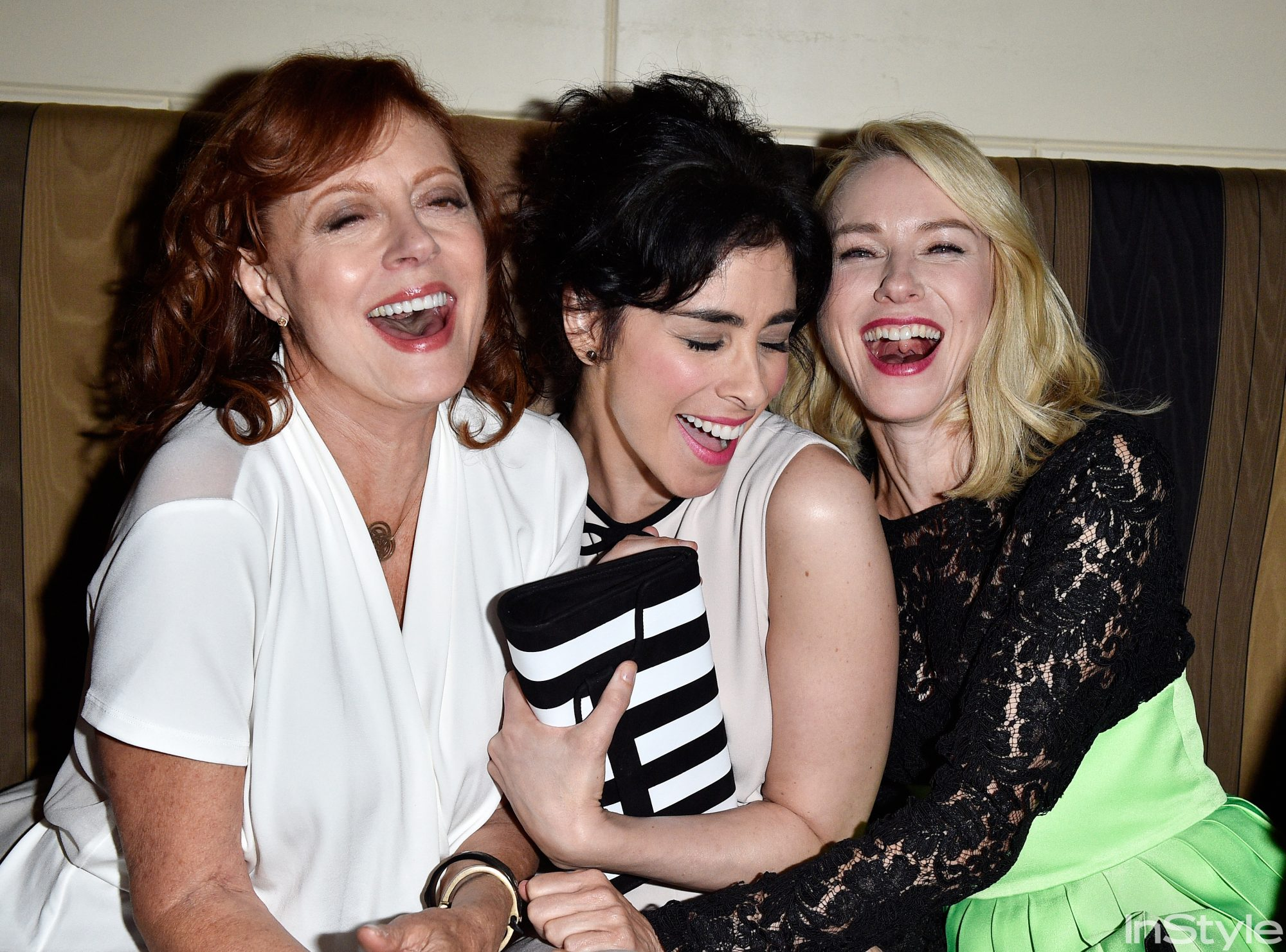 Susan Sarandon, Sarah Silverman, and Naomi Watts