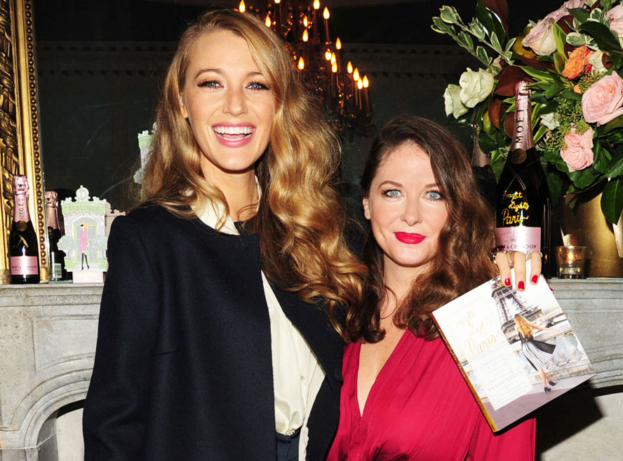 Blake Lively and Angie Niles