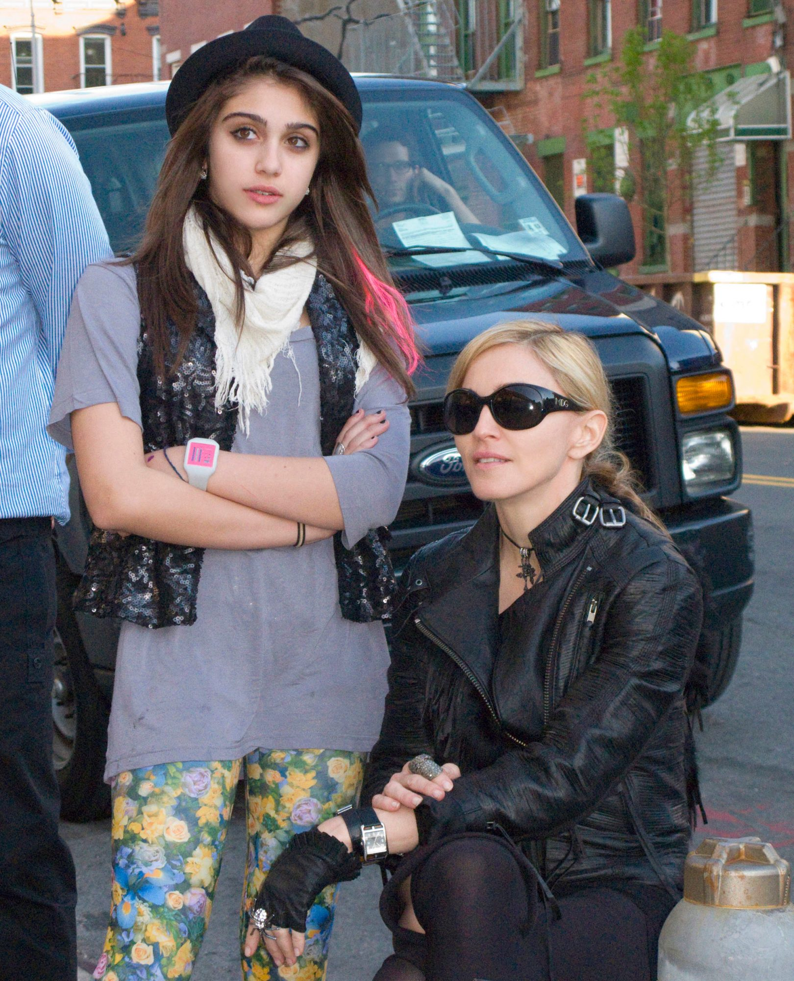 Madonna directs Taylor Momsen for Material Girl line