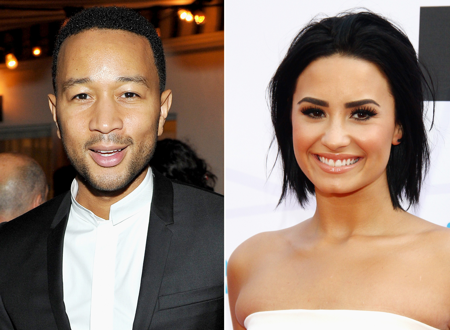 John Legend and Demi Lovato to Perform at Hillary Clinton's 68th Birthday Party