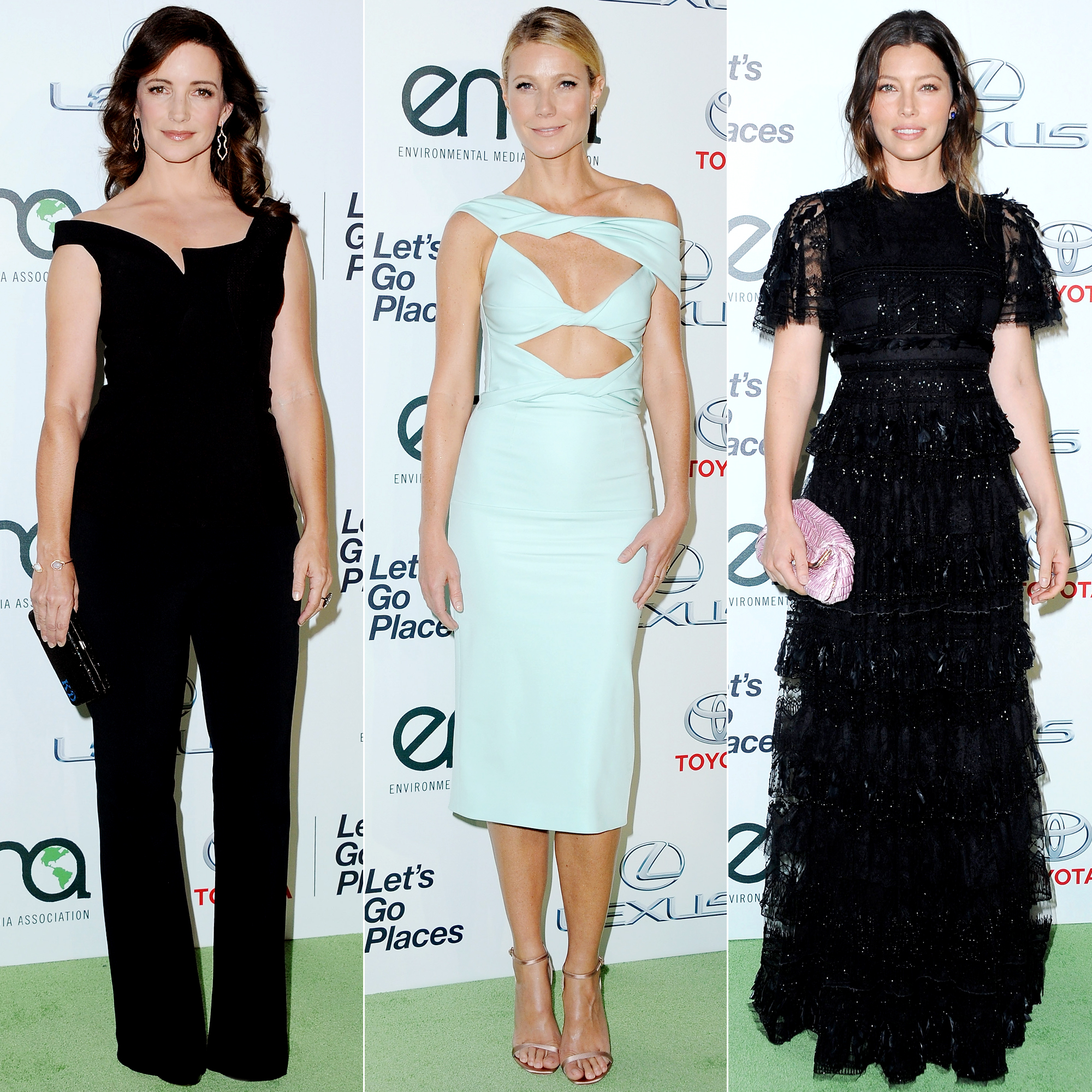 Kristin Davis, Gwyneth Paltrow, and More Stars Step Out to Fight for Environmental Protection