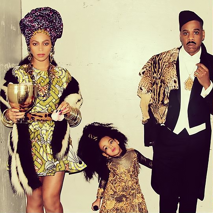 See Blue Ivy, Beyoncé and Jay Z Recreate <em>Coming to America</em> for Halloween