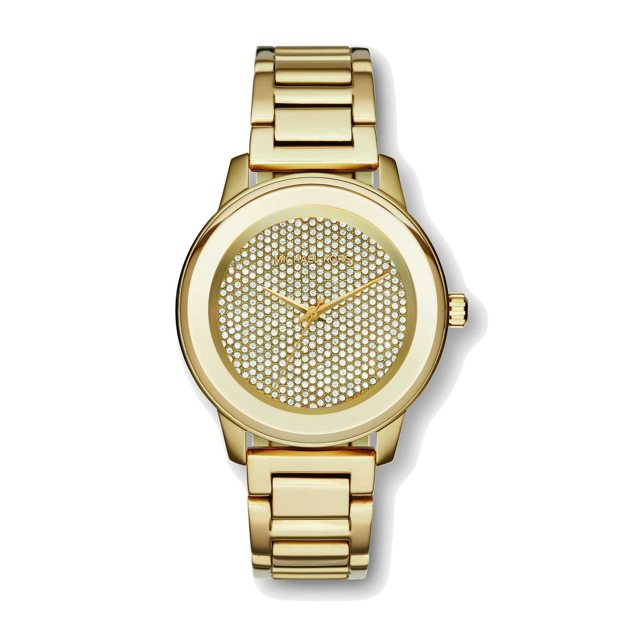 MICHAEL KORS PAVé GOLD-TONE WATCH
