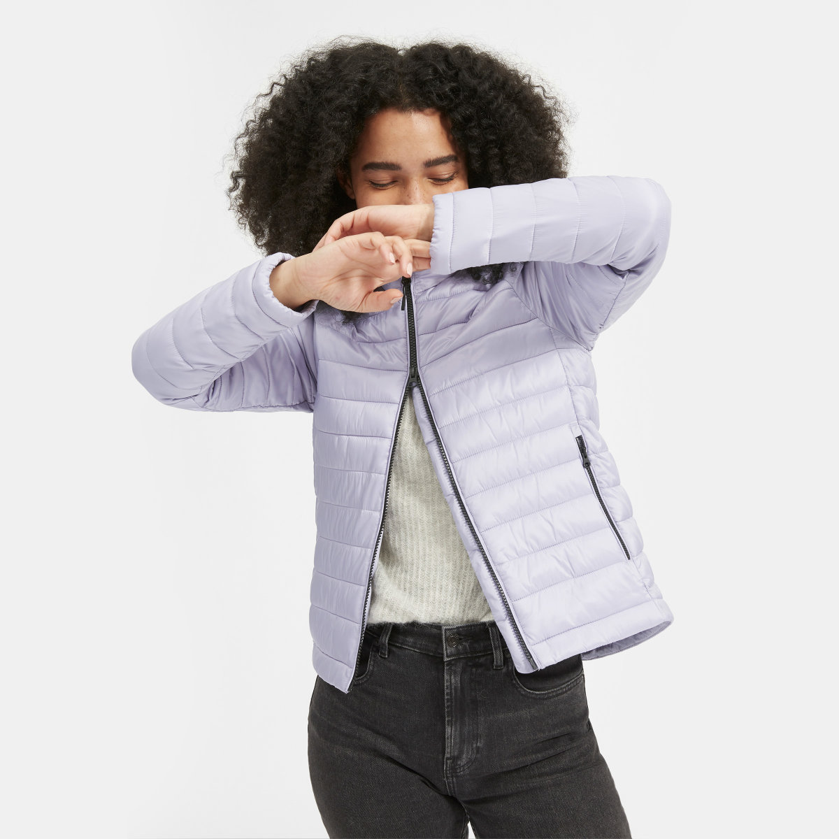 Everlane The ReNew Lightweight Puffer