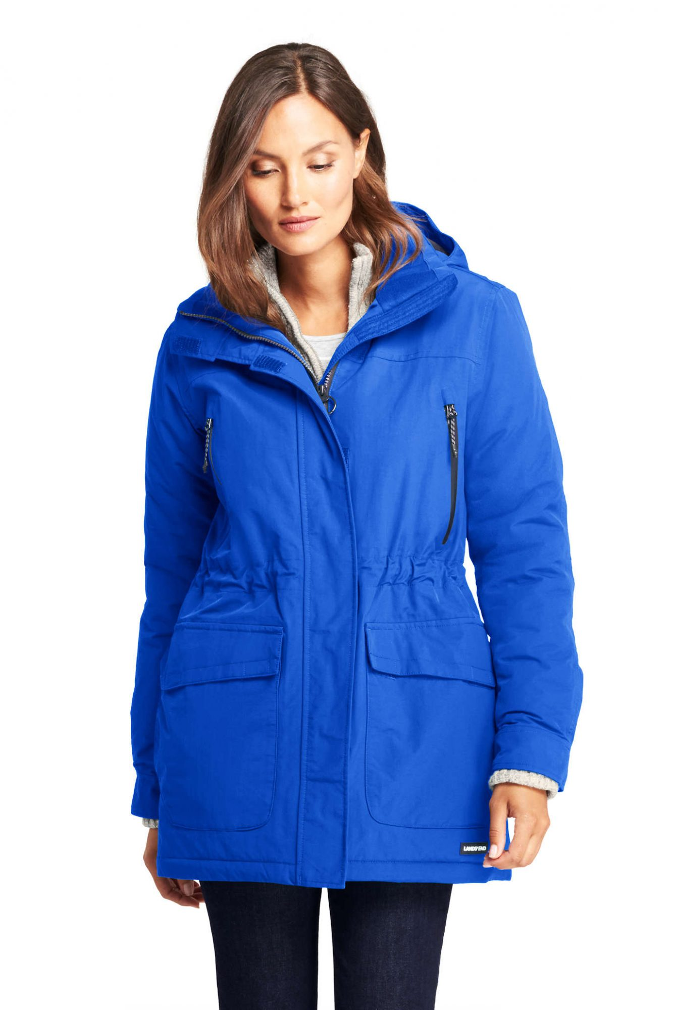 Lands' End Petite Squall Insulated Winter Parka
