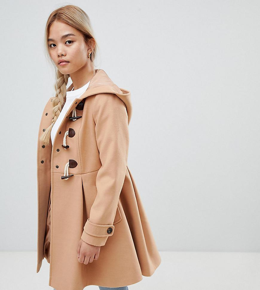 Asos Design Petite Skirted Duffle