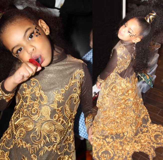 Beyonce - Blue Ivy - Halloween - Embed - 2