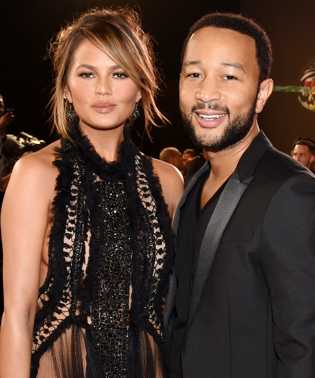 John Legend Hilariously Shows Off Chrissy Teigen's Underwear Drawer—Watch the Full Closet Tour