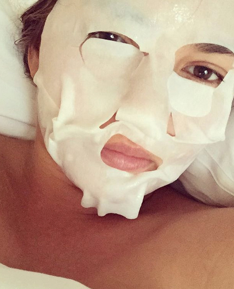 Nothing a little face mask action can't fix.