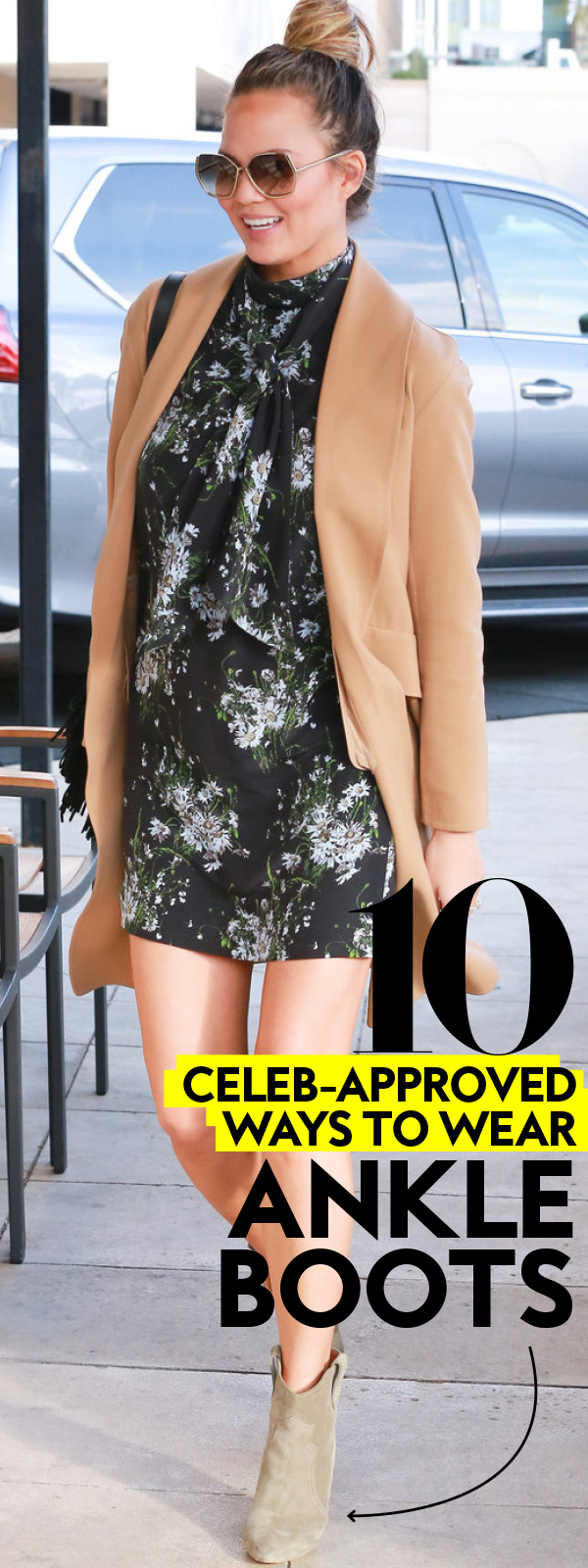 How To Wear Ankle Boots Celebrities In Ankle Boots