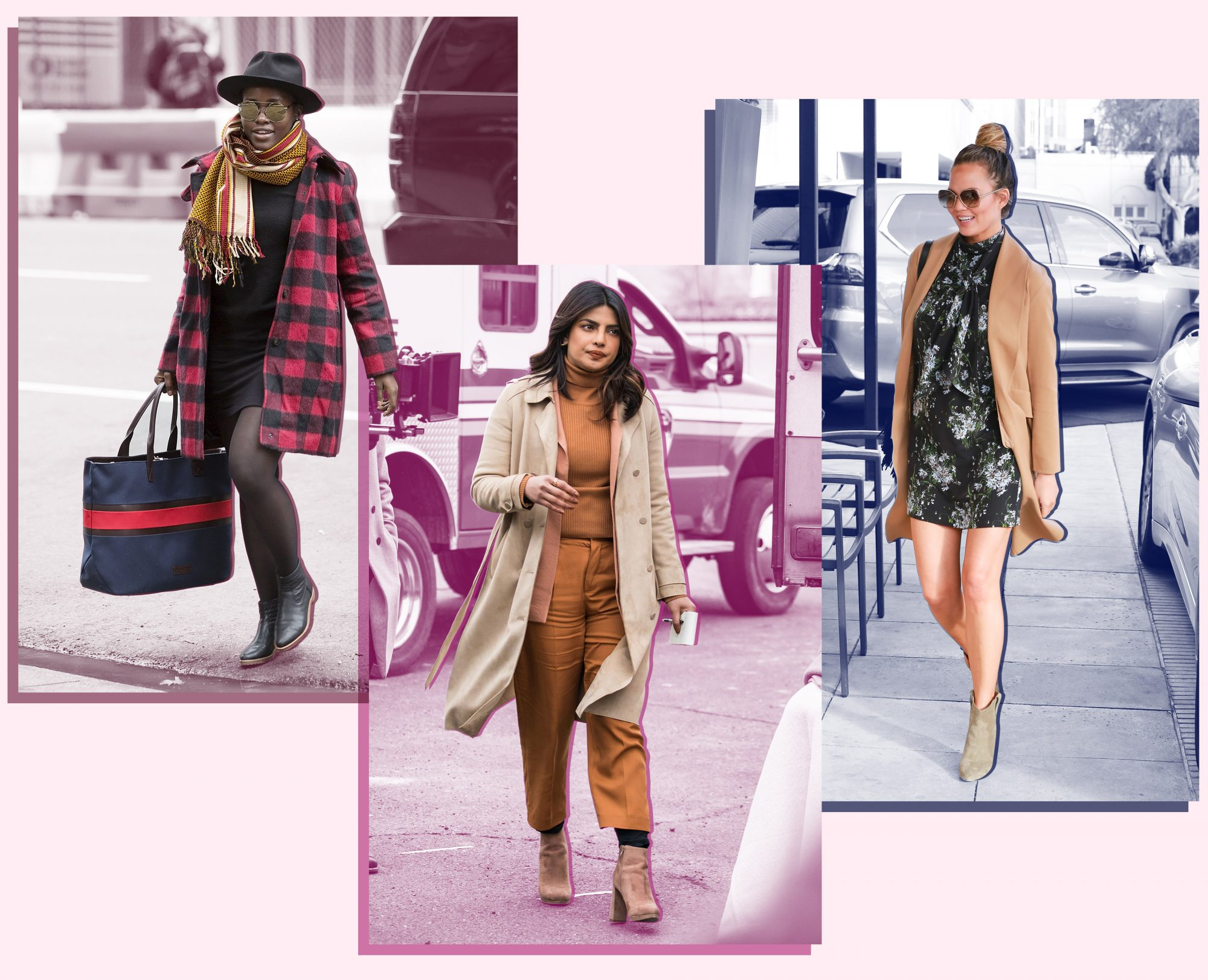 771f3d3735bb How to Wear Ankle Boots - Celebrities in Ankle Boots