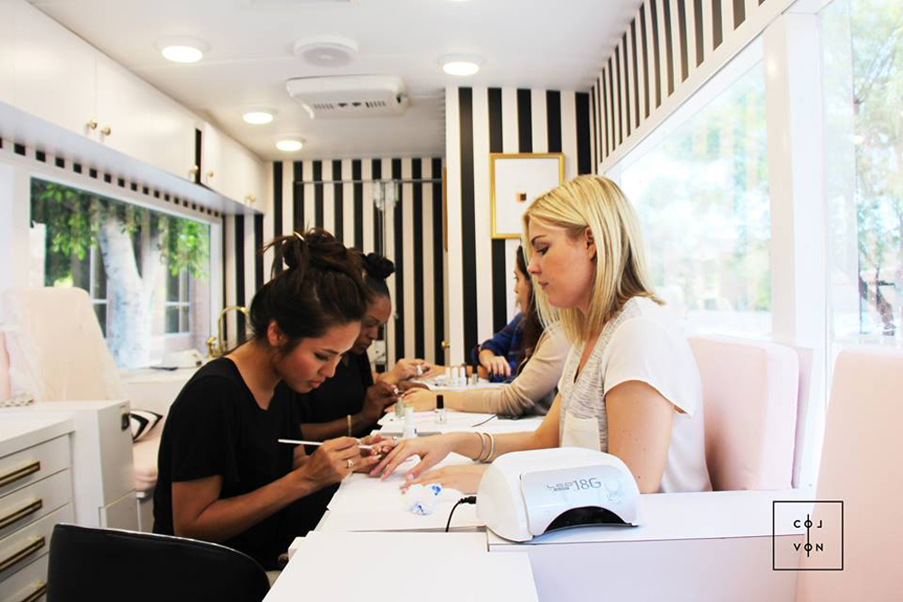 This Nail Salon Truck Will Actually Drive to Wherever You Are
