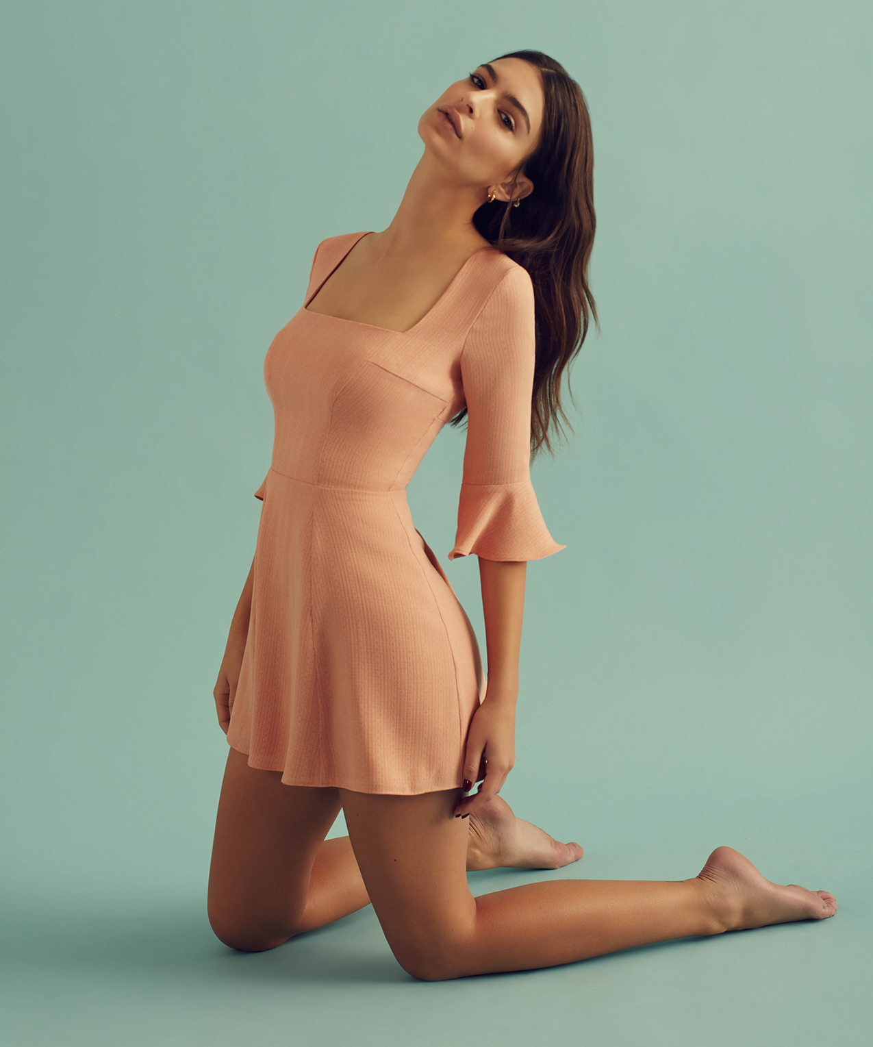 Emily Ratajkowski Teams Up with Christy Dawn to Create a Dress That Gives Back
